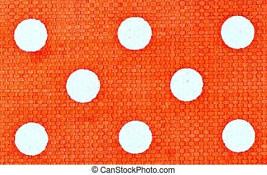 orange cloth texture background