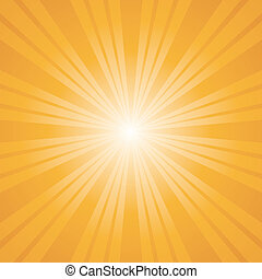 orange color burst background.