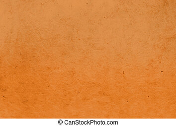 orange color mulberry paper texture background