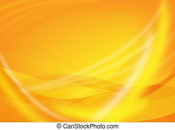 orange, conception abstraite