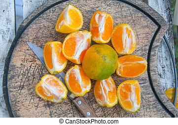 orange, conseil bois