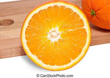 orange, coupure