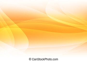 orange, courbé, fond