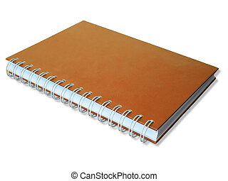 Orange cover Note Book