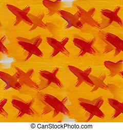 orange cross watercolor seamless background for your website wallpapers