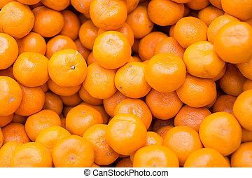 orange, cru, fond