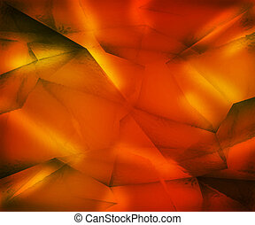Orange Crystal Texture