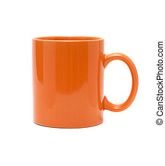 orange cup