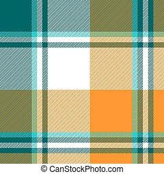 Orange diagonal fabric texture seamless pattern