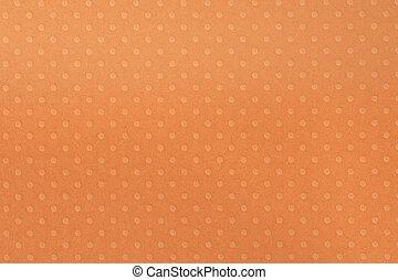 Orange  Dot Paper Texture