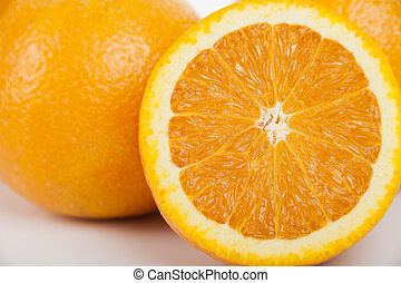 orange, doux, fruit