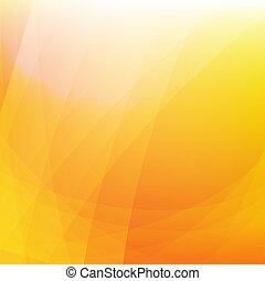 Orange Dynamic Background