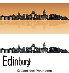 orange, edimbourg, horizon