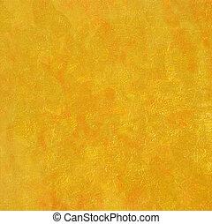 orange, ensoleillé, fond
