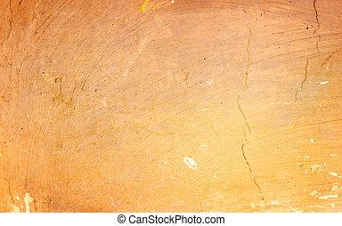Orange exposed concrete wall texture