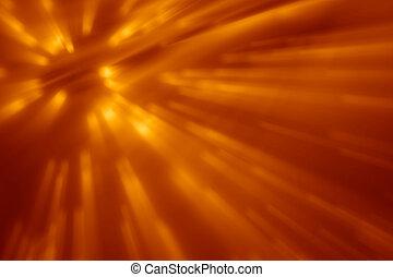 orange, faisceau