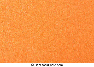 Orange felt background on macro. High quality texture in extremely high resolution.