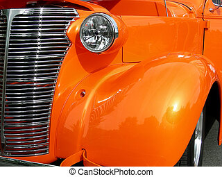 Orange Fender - Antique 1938 coupe