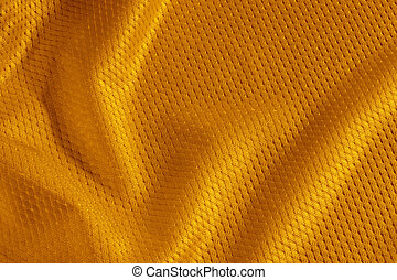 orange football Jersey - Close up shot of orange textured...