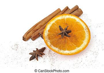 orange for celebrations