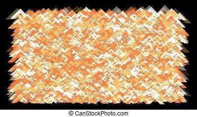 orange fragment paper background