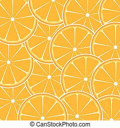 Orange fruit abstract background vector illustration