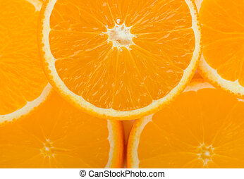 Orange fruit background