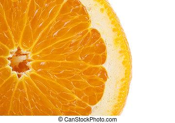 Orange fruit + Clipping Path