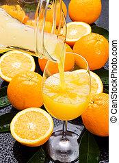 Orange fruit juice