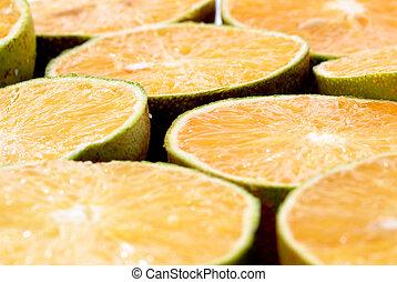 orange, fruit