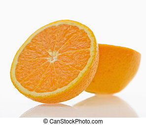 orange, fruit.
