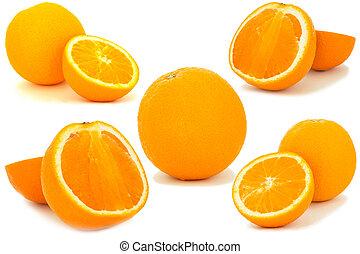 Orange fruit set