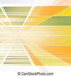 Orange Futuristic Background