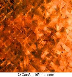 Orange glitter background. EPS 8