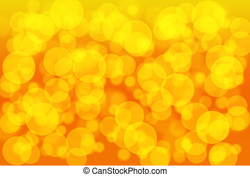 Orange gold and yellow color bokeh background. Design for studio, room, web template christmas .illustration