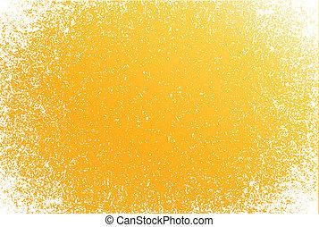 orange Grunge pattern frame