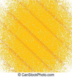 orange Grunge pattern frame lines background