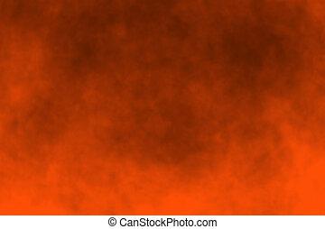 Orange Halloween Background - Abstract orange Halloween...