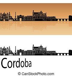 orange, horizon, cordoue