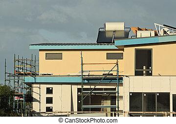 Orange house constructed