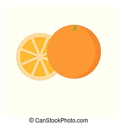 Orange icon on white background for graphic and web design, Modern simple vector sign. Internet concept. Trendy symbol for website design web button or mobile app.