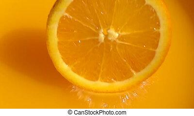 Orange in Slow Motion