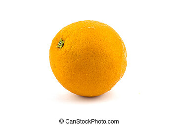 Orange isolated on white background. Save with clipping path.