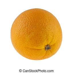 orange isolated on white background