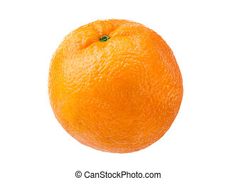 Orange isolated - Orange on white background without shadow