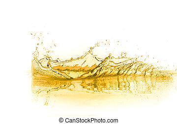orange juice splash