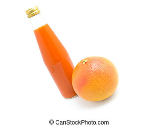 orange juice with fruit