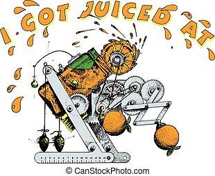 Orange Juicer - walter mitty type of mechanical juicers...