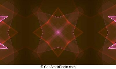 orange kaleidoscope - kaleidoscope effect background for...