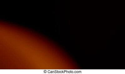 Orange light leaks seamless loop. Put it with screen or add...